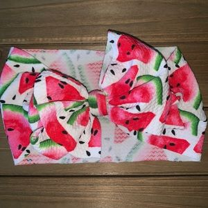 Other - Baby Head Wrap - Watermelon